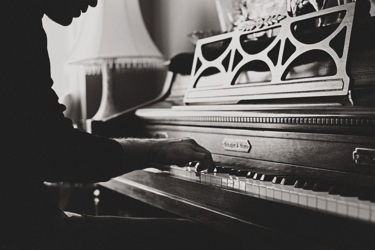 spelar piano, pianoskolan